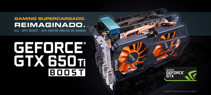 ZOTAC GeForce GTX 650 Ti BOOST