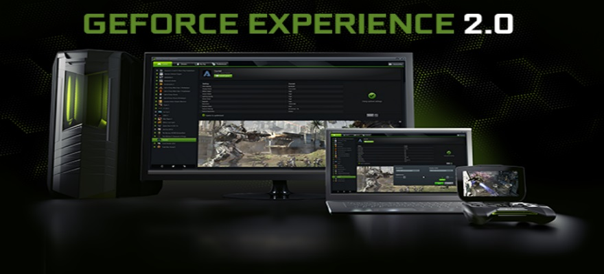 GeForce Experience: Keeping your gameplay optimized.